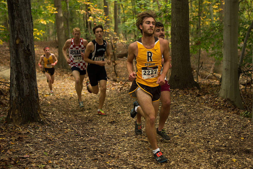Rowan University Jesse Spector - Collegiate Track Conference  Cross-Country Men's Championship at Gloucester County College in Sewell, NJ on Saturday October 19, 2013. (photo / Mat Boyle)