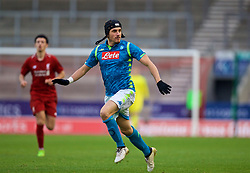 ST HELENS, ENGLAND - Monday, December 10, 2018: Napoli's Claudio Manzi during the UEFA Youth League Group C match between Liverpool FC and SSC Napoli at Langtree Park. (Pic by David Rawcliffe/Propaganda)
