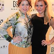 NLD/Amsterdam/20130205 - Modeshow Nikki Plessen 2013, Sanne Vogel en Gigi Ravelli