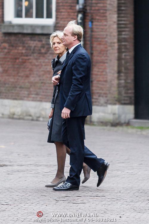 NLD/Delft/20131102 - Herdenkingsdienst voor de overleden prins Friso, prinses Irene Bourbon de Parma en zoon prins Carlos
