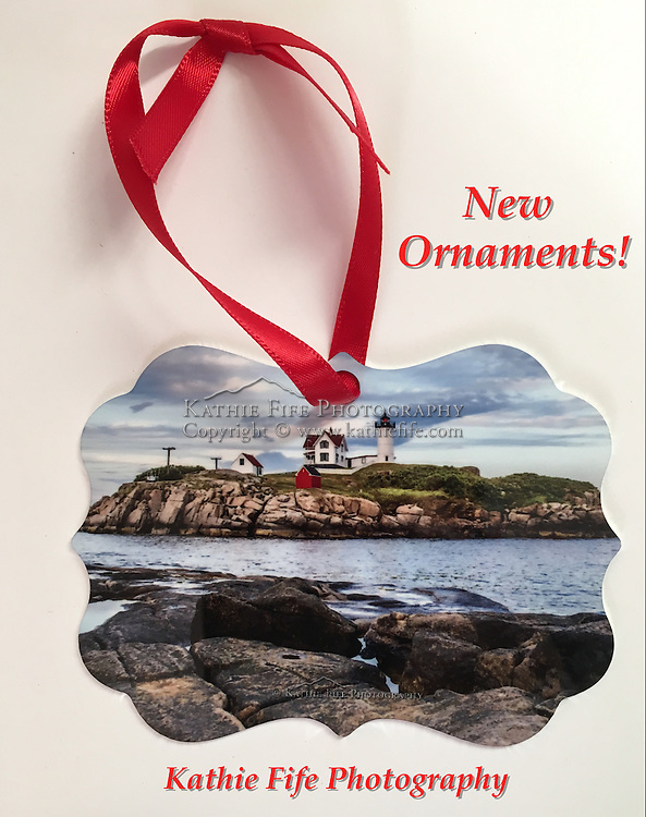 Nubble Lighthouse Ornament<br />