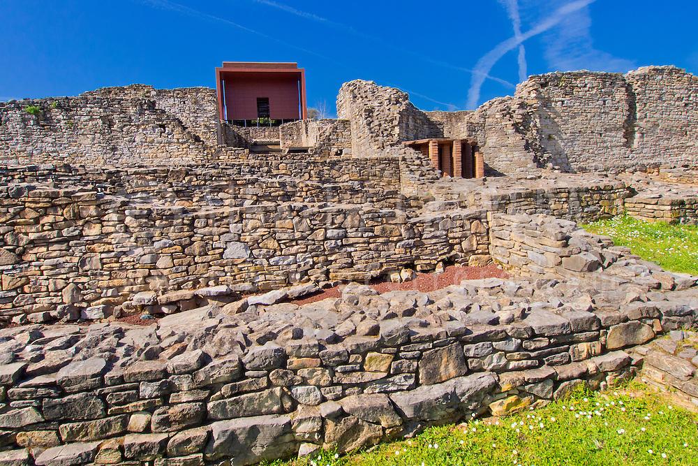 Alberto Carrera, Roman Village of Veranes, Villa Romana de Veranes, Arqueological Site, Veranes, Cenero, Gijón, Asturias, Spain, Europe