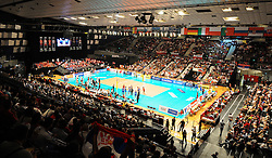 18.09.2011, Stadthalle, Wien, AUT, CEV, Europaeische Volleyball Meisterschaft 2011, Finale, Italien vs Serbien, im Bild Volleyball Feature // during the european Volleyball Championship Final Italy vs Serbia, at Stadthalle, Vienna, 2011-09-18, EXPA Pictures © 2011, PhotoCredit: EXPA/ M. Gruber