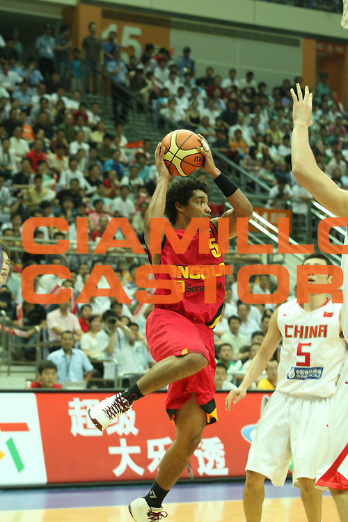 DESCRIZIONE : Nanjing Fiba Diamond Ball Men 2008 China Angola<br />