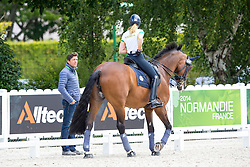 Tomkinson Maree, (AUS), Diamantina 4, Koschel Christoph, (GER)<br /> Alltech FEI World Equestrian Games™ 2014 - Normandy, France.<br /> © Hippo Foto Team - Leanjo de Koster<br /> 25/06/14
