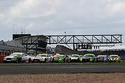 Race start during the British GT Silverstone 500 at the Silverstone Circuit, Silverstone, England on 11 June 2017. Photo by Jurek Biegus.