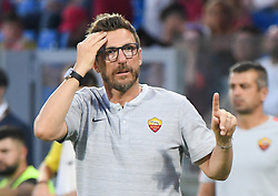 July 20, 2018 - Frosinone, Lazio, Italy - AS Roma head coach Eusebio Di Francesco during the Pre-Season Friendly match between AS Roma and Avellino at Stadio Benito Stirpe on July 20, 2018 in Frosinone, Italy. (Credit Image: © Silvia Lore/NurPhoto via ZUMA Press)