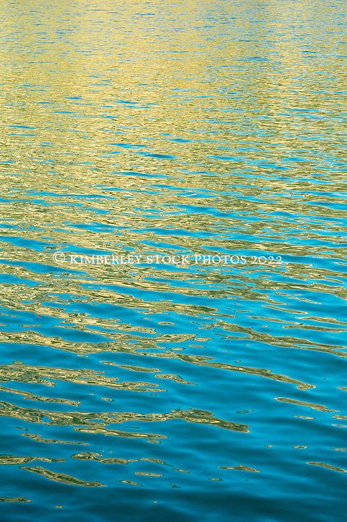 Water reflections Kimberley coast