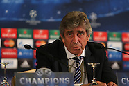Manchester City Press Conference 091214