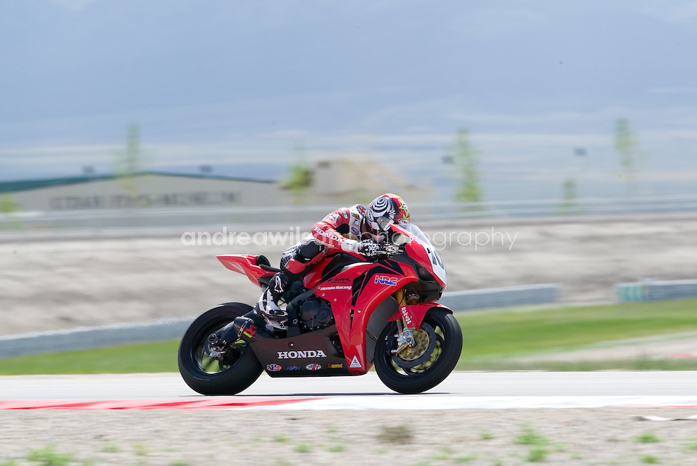 Round 5 - AMA Superbike Series - Miller Motorsports Park - Toelle, UT - May 30-June 1, 2008<br /> <br /> :: Contact me for download access if you do not have a subscription with andrea wilson photography. ::  <br /> <br /> :: For anything other than editorial usage, releases are the responsibility of the end user and documentation will be required prior to file delivery ::
