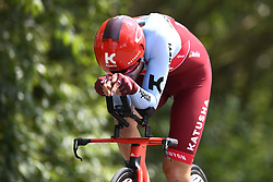 May 25, 2018 - Bornem, Belgique - BORNEM, BELGIUM - MAY 25 :  MATHIS Marco (GER)  of Team Katusha Alpecin during stage 3 individual time trial of the Baloise Belgium Tour 2018 cycling race with start in Bornem and finish in Bornem on May 25, 2018 in Bornem, Belgium, 25/05/2018 (Credit Image: © Panoramic via ZUMA Press)