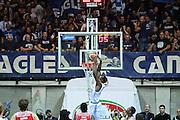 Red October Cantù VS Consultinvest Pesaro LBA serie A 3^ giornata stagione 2016/2017 Desio 16/10/2016<br /> <br /> Nella foto: Lawal Gani