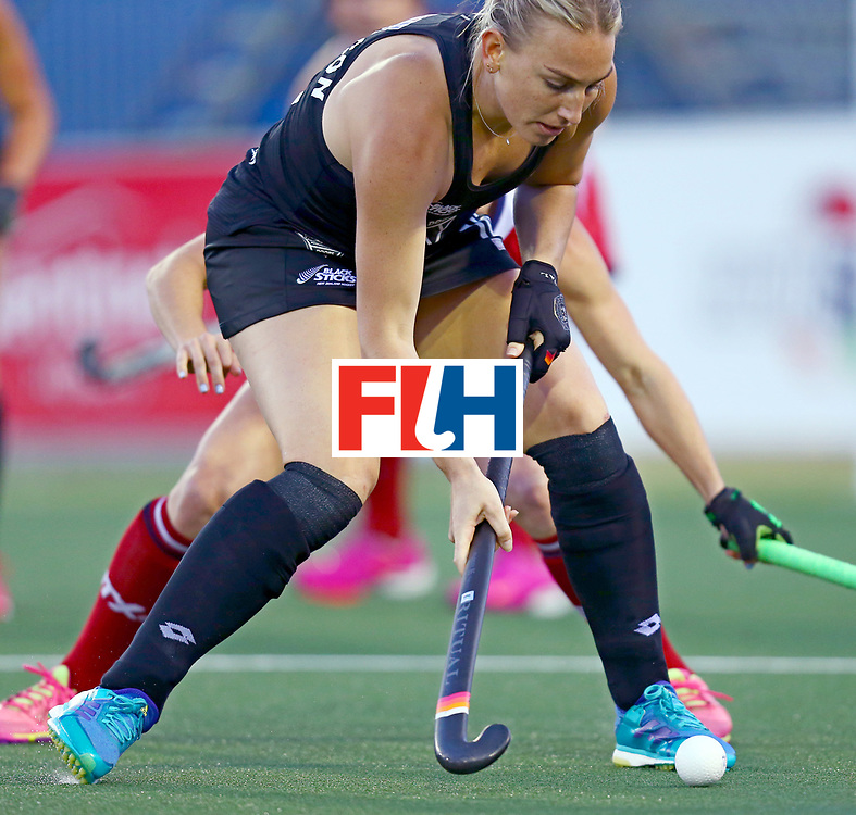 New Zealand, Auckland - 20/11/17  <br /> Sentinel Homes Women&rsquo;s Hockey World League Final<br /> Harbour Hockey Stadium<br /> Copyrigth: Worldsportpics, Rodrigo Jaramillo<br /> Match ID: 10300 - NZL vs USA<br /> Photo: (16) THOMPSON Liz