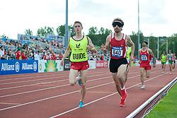DENIZ Semih, Guide BOGAHAN Furkan, KACAR Hasan Huseyin, 2014 IPC European Athletics Championships, Swansea, Wales, United Kingdom