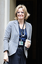 Downing Street, London, June 14th 2016. Energy Secretary Amber Rudd arrives at 10 Downing Street to attend the weekly cabinet meeting.