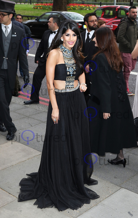 Jasmine Walia, The Asian Awards, Grosvenor House Hotel, London UK, 17 April 2015, Photo by Richard Goldschmidt