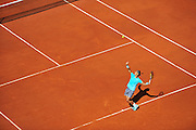 Rafael Nadal from Spain competes in men's single third round while Day Seventh during Roland Garros 2014 at Roland Garros Tennis Club in Paris, France.<br /> <br /> France, Paris, May 31, 2014<br /> <br /> Picture also available in RAW (NEF) or TIFF format on special request.<br /> <br /> For editorial use only. Any commercial or promotional use requires permission.<br /> <br /> Mandatory credit:<br /> Photo by &copy; Adam Nurkiewicz / Mediasport