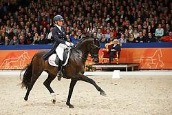 Brouwer Kirsten (NED) - Tuschinski<br /> KWPN Stallion Selection - 's Hertogenbosch 2014<br /> © Dirk Caremans
