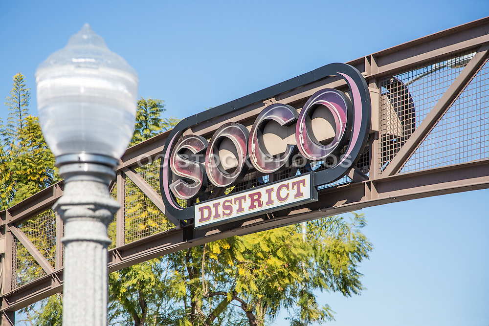 SOCO District in Downtown Fullerton