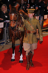 The UK premiere of War Horse at Odeon Leicester Square, London, Sunday January 8, 2012. Photo By i-Images..
