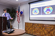 Roskamp Institute researchers and clinicians present their latest research into neurological disorders that impact veterans and military personnel during the Institute's third annual Veterans Open House.