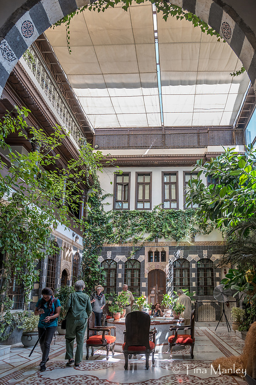 Beit Al-Wali Hotel, 5 star hotel in Damascus made from renovated, historical governor's houses.