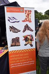 Norfolk Fire & Rescue at Pride 2017, Norwich UK, 29 July 2017