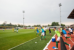 Branko Ilic of Olimpija celebrate after they became Slovenian National Champion 2018 after the football match between NK Domzale and NK Olimpija Ljubljana in 36th Round of Prva liga Telekom Slovenije 2017/18, on May 27, 2018 in Sports park Domzale, Domzale, Slovenia. Photo by Vid Ponikvar / Sportida