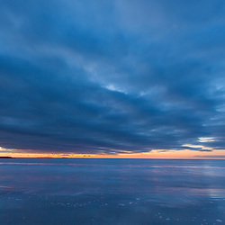 Dawn over the Atlantic, Rye, New Hampshire.