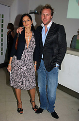 SIMON & YASMIN MILLS at the Art Plus Dance Party 2005 - an evening of live dance, film and partying held at the Whitechapel Art Gallery, 80-82 Whitechapel High Street, London on 21st March 2005.<br />