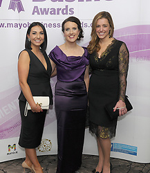 Pictured attending the 2018 Mayo Buisness Awards were Aneta Dobrowolska,  Fidelma McGuirk and Rachel Cody<br />