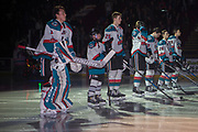KELOWNA, CANADA - MARCH 03:  Pepsi Player of the Game in the lineup at the Kelowna Rockets game on March 03, 2018 at Prospera Place in Kelowna, British Columbia, Canada.  (Photo By Cindy Rogers/Nyasa Photography,  *** Local Caption ***
