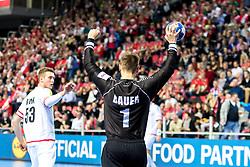 12.05.2017, Zatika Sport Centre, Porec, CRO, EHF EM, Herren, Österreich vs Frankreich, Gruppe B, im Bild Thomas Bauer (AUT) // during the preliminary round, group B match of the EHF men's Handball European Championship between Austria and France at the Zatika Sport Centre in Porec, Croatia on 2017/05/12. EXPA Pictures © 2018, PhotoCredit: EXPA/ Sebastian Pucher