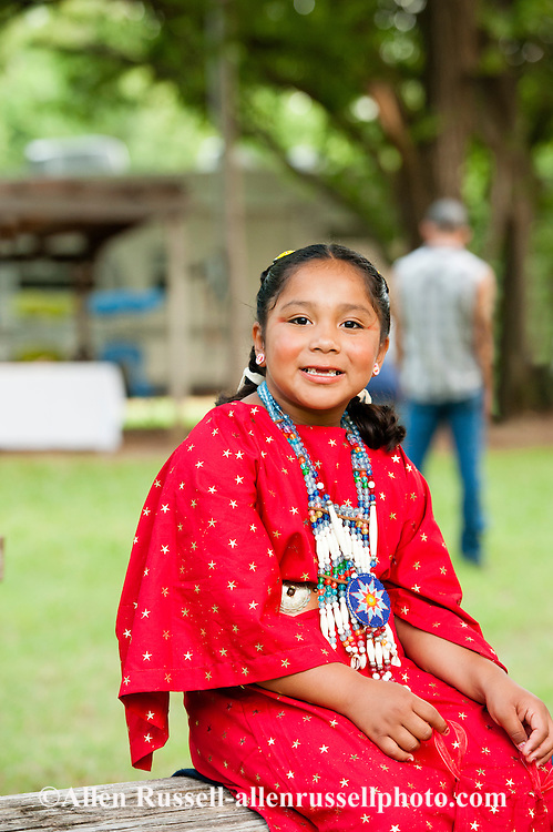 Caddo, kids, girl, Caddo Nation, Indians, Native Americans, Binger, Oklahoma