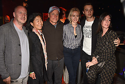 """Matthew Freud, Laura Louie, Woody Harrelson, Camilla al-Fayed, Arthur Donald, Mary McCartney at """"Hoping For Palestine"""" Benefit Concert For Palestinian Refugee Children held at The Roundhouse, Chalk Farm Road, England. 04 June 2018. <br /> Photo by Dominic O'Neill/SilverHub 0203 174 1069/ 07711972644 - Editors@silverhubmedia.com"""