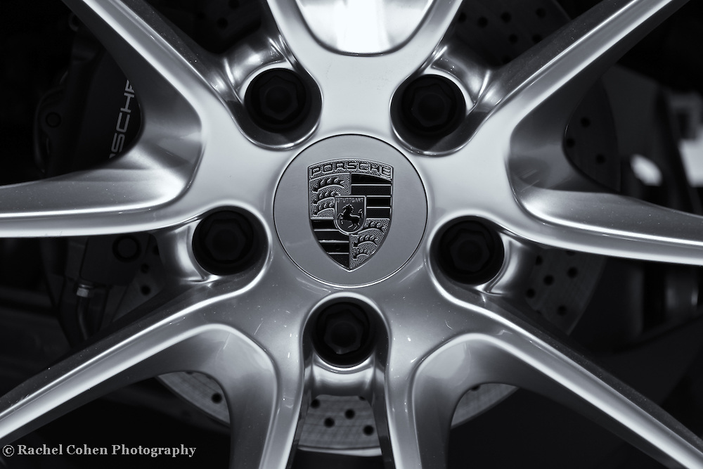 &quot;Porsche Wheel&quot;- B&amp;W<br />