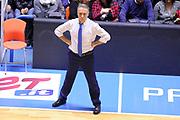 DESCRIZIONE : Brindisi  Lega A 2015-16<br /> Enel Brindisi Manital Auxilium Torino<br /> GIOCATORE : Piero Bucchi<br /> CATEGORIA : Allenatore Coach<br /> SQUADRA :Enel Brindisi <br /> EVENTO : Campionato Lega A 2015-2016<br /> GARA :Enel Brindisi Manital Auxilium Torino<br /> DATA : 23/12/2015<br /> SPORT : Pallacanestro<br /> AUTORE : Agenzia Ciamillo-Castoria/D.Matera<br /> Galleria : Lega Basket A 2014-2015<br /> Fotonotizia : Brindisi  Lega A 2015-16 Enel Brindisi Manital Auxilium Torino<br /> Predefinita :