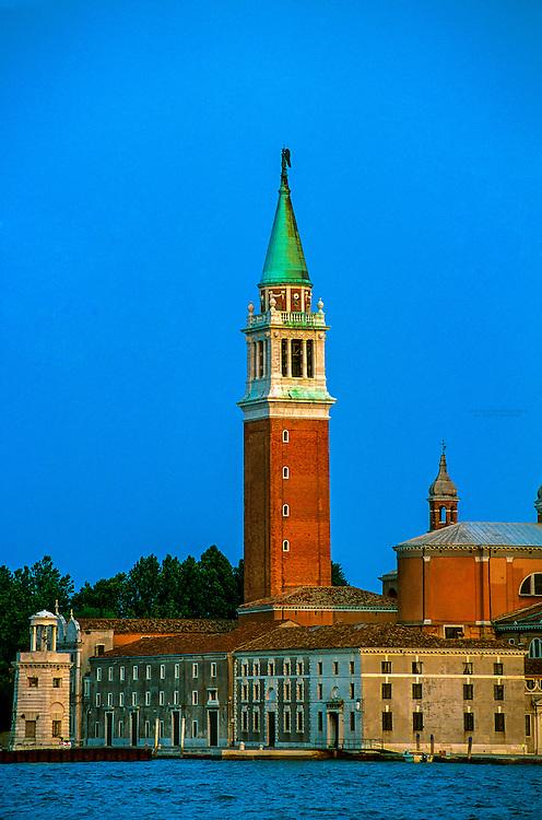 Chiesa di S. Giorgio Maggiore (Isola di S. Giorgio Maggiore), Bacino di San Marco, Venice, Italy