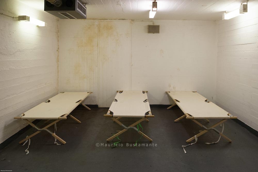 Wegen der starken Kälte hat Hamburg den ABC-Schutzbunker als Notunterkunft für Obdachlose geöffnet.