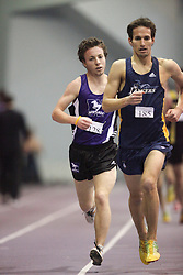 London, Ontario ---11-01-22---   Kevin Blackney of the Western Mustangs competes at the 2011 Don Wright meet at the University of Western Ontario, January 22, 2011..GEOFF ROBINS/Mundo Sport Images.