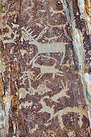 Russie, Republique d'Altai, pierre à cerf de Chuya // Russia, Altai Republic, Chuya deer stone site