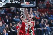 rimbalzo attacco Caserta, EA7 Olimpia Milano vs Pasta Reggio Caserta - Lega Basket Serie A 2016/2017 - Mediolanum Forum Milano 30 ottobre 2016 - foto Ciamillo-Castoria