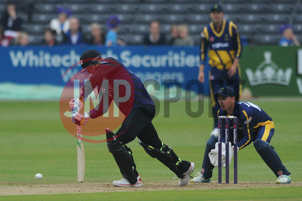 Peter Handscomb of Gloucestershire  - Photo mandatory by-line: Dougie Allward/JMP - Mobile: 07966 386802 - 12/06/2015 - SPORT - Cricket - Bristol - County Ground - Gloucestershire v Glamorgan - Natwest T20 Blast
