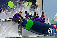 BT on Day 3 of the iShares Cup in Cowes