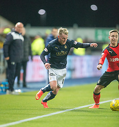 Falkirk's Craig Sibbald. <br /> Falkirk 3 v 2 Rangers, Scottish Championship game player at The Falkirk Stadium, 18/3/2016.