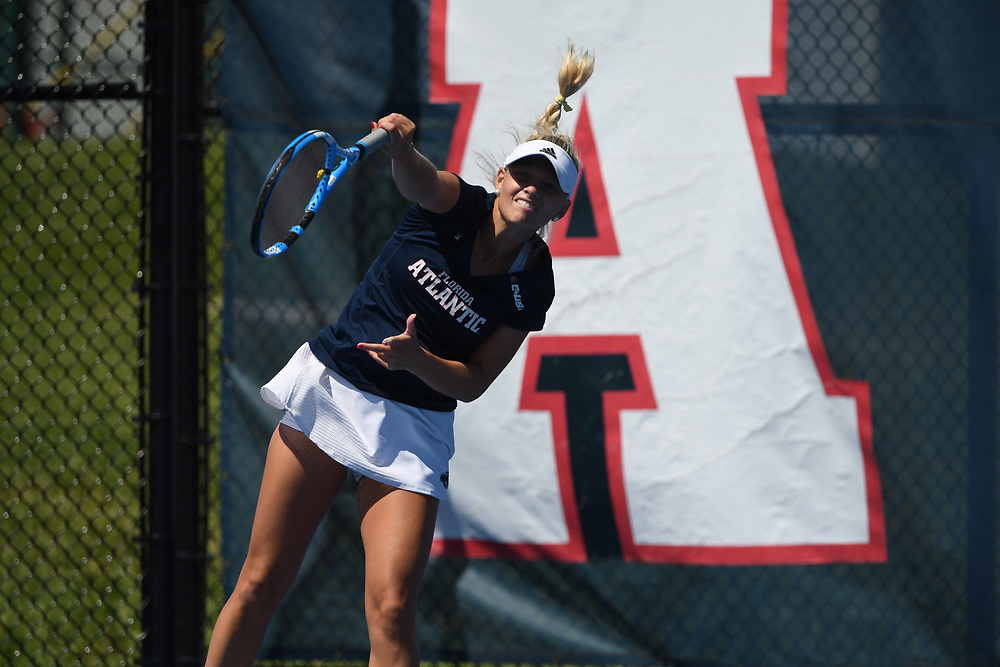 2018 FAU Women's Tennis vs Texas - El Paso