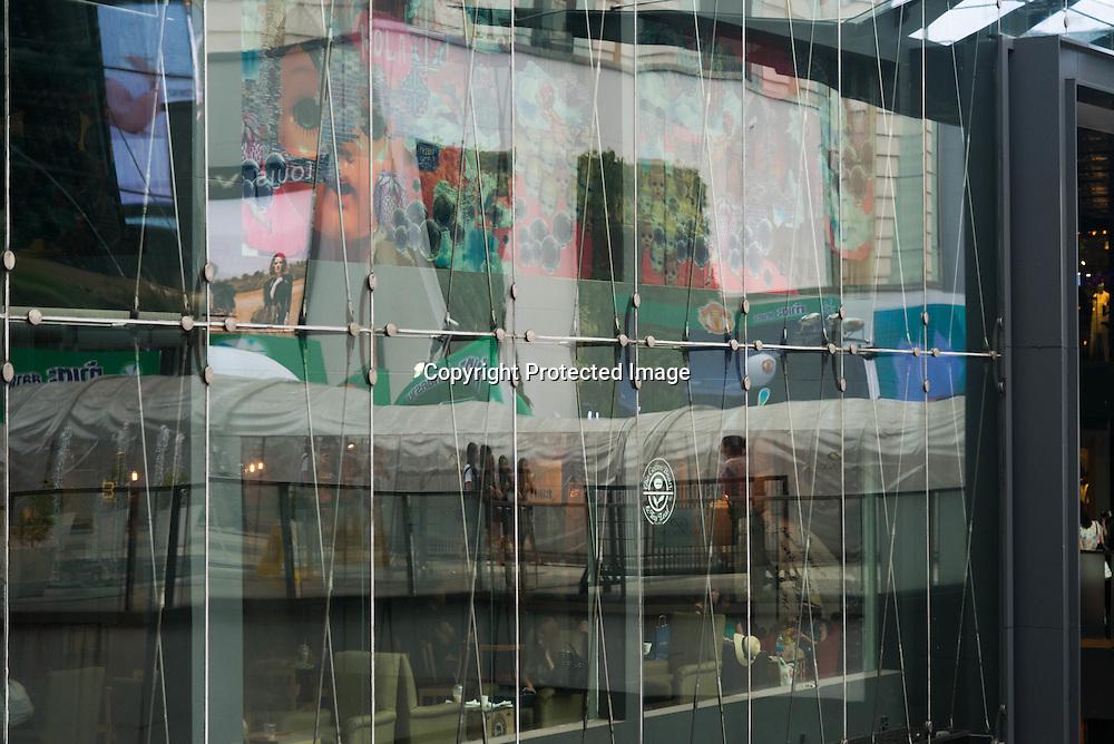 Thailand. Bangkok. Siam Center district / Quartier du Siam center
