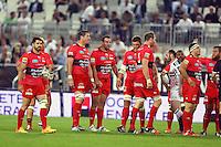 Deception equipe de Toulon - 05.06.2015 - Toulon / Stade Francais - 1/2Finale Top 14 -Bordeaux<br /> Photo : Manuel Blondeau / Icon Sport