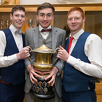 Cooraclare Minor Football Players Sean O'Donoghue, Donal O'Grady and Keith Marinan