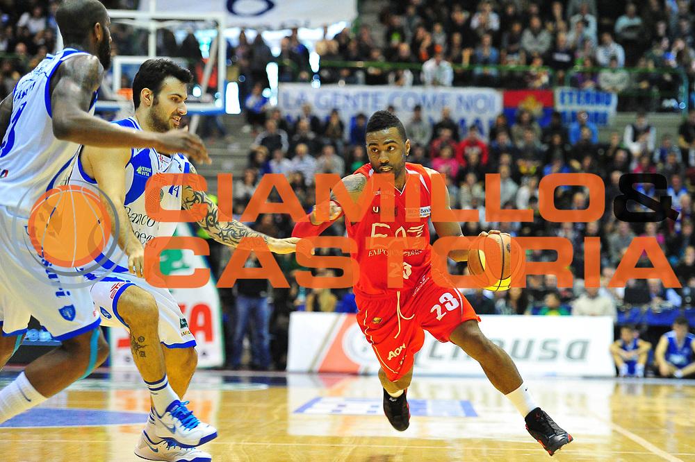 DESCRIZIONE : Sassari Lega A 2012-13 Dinamo Sassari - Armani Milano<br /> GIOCATORE :Keith Langford<br /> CATEGORIA :Palleggio<br /> SQUADRA : Armani Milano<br /> EVENTO : Campionato Lega A 2012-2013 <br /> GARA : Dinamo Sassari - Armani Milano<br /> DATA : 30/03/2013<br /> SPORT : Pallacanestro <br /> AUTORE : Agenzia Ciamillo-Castoria/M.Turrini<br /> Galleria : Lega Basket A 2012-2013  <br /> Fotonotizia : Sassari Lega A 2012-13 Dinamo Sassari - Armani Milano<br /> Predefinita :